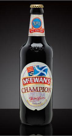 McEwan's Champion Ale (7.3% abv. Strong Scottish Ale)