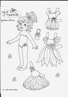 More black and white dolls 2 - Ulla Dahlstedt - Picasa Web Albums Colouring Pages, Adult Coloring Pages, Coloring Books, Paper Toys, Paper Crafts, Family Day Quotes, Paper Dolls Printable, Girls With Flowers, Vintage Paper Dolls