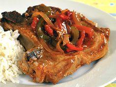 Srbské vepřové žebírko Steak, Recipies, Food And Drink, Pork, Kitchen, Czech Food, Meat, Rezepte, Decorations