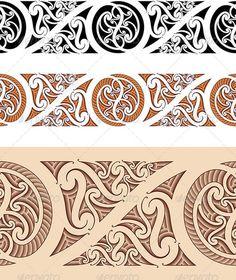 maori tattoo designs Beauty is part of Amazing Maori Tattoo Designs And Their Meanings - Maori Styled Seamless Pattern Patterns Decorative Maori Tattoos, Marquesan Tattoos, Samoan Tattoo, Tribal Tattoos, Polynesian Tattoos, Tatoos, Maori Designs, Tattoo Designs For Women, Tribal Designs