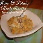 Ham & Potato Hash Recipe (Leftover Ham Recipe)