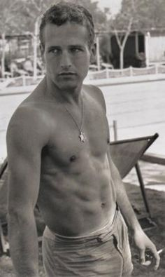 Paul Newman back in the day....yum!