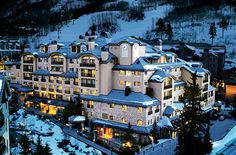 The Beaver Creek Lodge is an exquisite hotel located near the Beaver Creek Resort in Colorado.