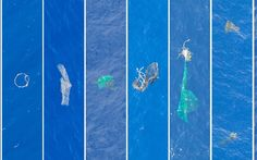 <p>Unsettling images shows how present our plastic problem is in the ocean. </p>