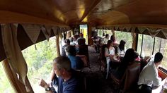 Dine in a parlor car.