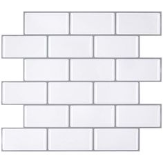 """This Arabesque Peel and Stick Backsplash Can Renovate Your Kitchen, which Can Be Applied to Rv, kitchen and Bathroom. the size of the tile is 11""""x10"""", which covers 10% more area than 10""""x10"""" tile covers. High quality assurance. Easy to install, just peel and stick(not real tile and not just sticker).More blue color than green. Stick On Wall Tiles, Peel N Stick Backsplash, Subway Tile Backsplash, Peel And Stick Tile, Wall Waterproofing, Self Adhesive Wall Tiles, Wall Stickers Wallpaper, Decorative Wall Tiles, Smart Tiles"""