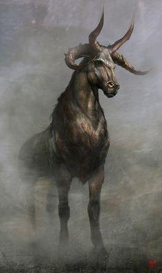 art,арт,красивые картинки,Fantasy,Fantasy art,Мифические существа,Virginie Carquin