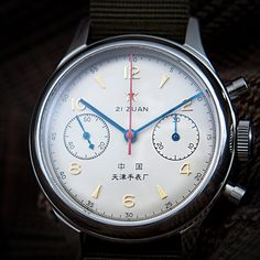 I don't usually dig military style watches, but this one does it right. Seagull 1963 Air Force Watch Sapphire Crystal. $390