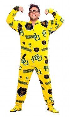 Baylor Footie Pajamas!