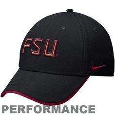 Nike Florida State Seminoles (FSU) Legacy 91 Dri-FIT Adjustable Coaches Cap - Black