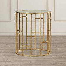 Furniture & Home Decor Search: gold accent table