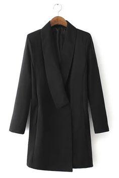 Vestido gola - US$35.95 -YOINS