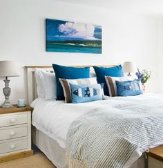 Coastal Country Bedrooms