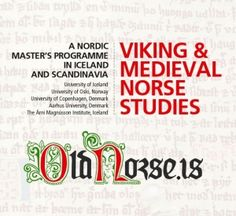Viking and Medieval Norse Studies Brochure