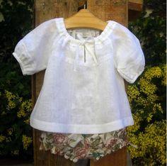 Summer outfit for girls. Roupinha de verão para meninas. #girls #toddler #girlsoutfit #meninas #roupademeninas #maisonbaby