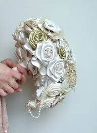 olive ivory lace florals and pearls - Google Search