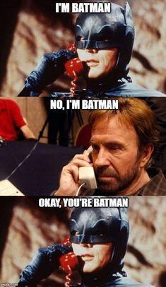 Batman Facts, Batman Slapping Robin, Chuck Norris Memes, Keyboard Warrior, Im Batman, Adult Humor, New Pins, Getting Old, Funny