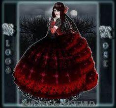 "... Rose"" Wedding Dress Set Bridal Gown Gothic Wedding tagGoth tagVampire Gothic Wedding, Rose Wedding, Goth Wedding Dresses, Dress Set, Bridal Gowns, Image, Bride Dresses, Gothic Wedding Dresses, Alon Livne Wedding Dresses"