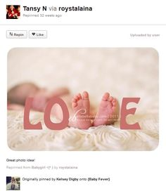 Newborn Photography Ideas | Baby photography ideas – Feet Fonts and Word Art - Photo(idea)Shop
