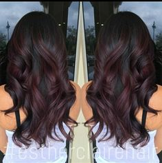 Hair inspiration red