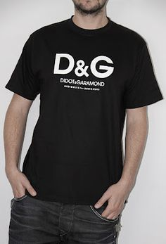 D and G Designers for Designers T-shirt