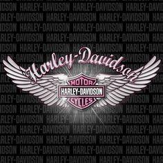Pink Harley Davidson Wings - Bing Images