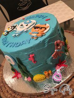 Undersea Octonauts Birthday Cake By Sugie Galz In Austin Tx
