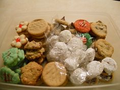 an assortment of our christmas cookies