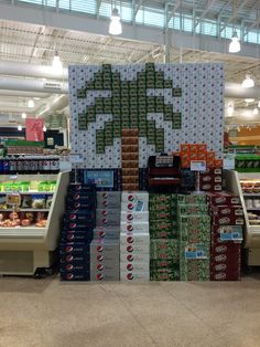 A great advertising display at Publix.