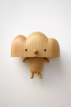 wooden toy by Yan Ruilin