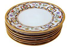 Christian Dior Renaissance Plates, S/7 on OneKingsLane.com