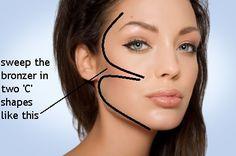 cheek makeup | The Bronzed Goddess Makeup Guide | Features | Features & Tips ...