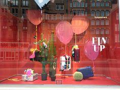 Amsterdam Bijenkorf Fashion Merchandising, Visual Merchandising, Brics, Front Windows, Market Stalls, Artwork Display, Shop Fronts, Visual Display, Window Shopping