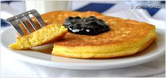 Omlet biszkoptowy - przepis - I Love Bake Sweet Recipes, Pancakes, Pierogi, Food And Drink, Sweets, Lunch, Baking, Breakfast, Desserts