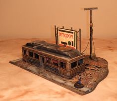 post apocalyptic terrain | Dot's Diner and the Jury Street Metro Station « Captain Apathys ...