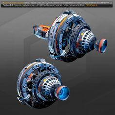 Spaceship 3d Model, Spaceship Design, Concept Ships, Concept Cars, Star Trek Starships, Star Wars Ships, Game Dev, Science Fiction Art, Armored Vehicles