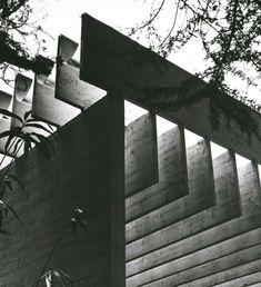 Sverre Fehn, detail of the Nordic Pavilion,  Giardini della Biennale, Venice Courtesy Ferruzzi