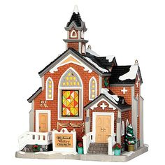 Lemax Village Collection Christmas Village Building Hyland Valley Church