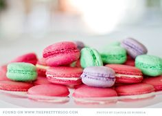 Pastel Macaroons #dessert#Repin By:Pinterest++ for iPad#