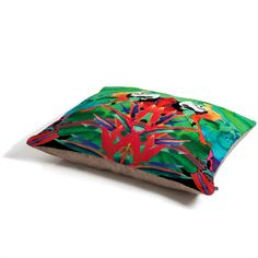 Amy Sia Welcome to the Jungle Parrot Pet Bed | DENY Designs Home Accessories