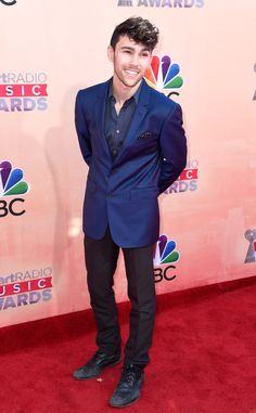 Max Schneider from 2015 iHeartRadio Music Awards Red Carpet Arrivals | E! Online