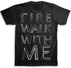 Twin Peaks (Fire Walk With Me) David Lynch T Shirt - Tri-Blend Vintage Fashion - Graphic Tees for Men & Women