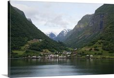 Norway, Sogne Fjord (aka Sognefjord), the longest fjord in the world