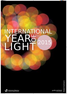 Poster created by Robert Gutman, Offenburg University #iyl2015