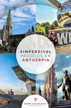 Confira os melhores passeios na Antuérpia, Bélgica: como ir de Bruxelas para Antuérpia e tudo o que fazer em um das principais cidades da Bélgica. Disneyland, Eurotrip, Blog, Travel Tips, Amazing Photos, Nice Photos, Brussels, Turismo, Lugares