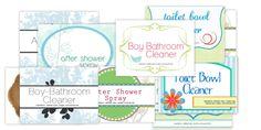 Homemade Boy-Bathroom Cleaner & Toilet Bowl Cleaner