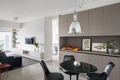 ATM arquitetura's renovated apartment features panoramic views of sao paulo