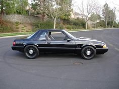 Almost looks like a police package Fox Body Mustang, Ford Mustang Car, Ford Mustangs, Notchback Mustang, Ford Fox, Ford Lincoln Mercury, Ford Parts, Ford Fairlane, Pony Car