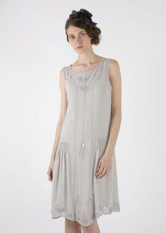 Precioso vestido de Meisïe,inspirado en los años 20.