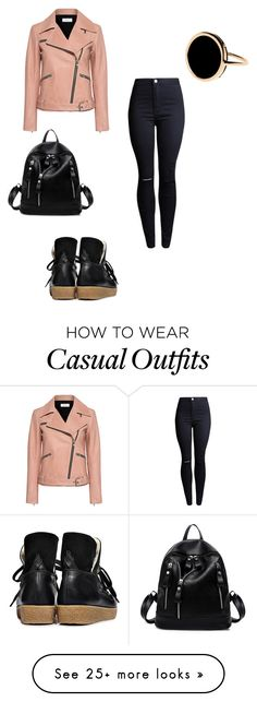 """Untitled #2356"" by mrstreschic on Polyvore featuring A.L.C., Ganni and Ginette NY"
